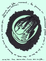lacrimosa /mai 2011 /marqueur sur papier pelure - A4